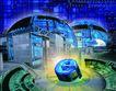网际网络0036,网际网络,未来科技,空间 建筑 电脑制图
