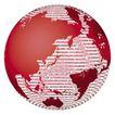 3D地球0047,3D地球,未来科技,红色地球