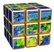3D地球0053,3D地球,未来科技,魔方 正方体 地球地貌