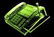 X光世界0065,X光世界,未来科技,电话机 话筒 按键