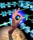 电子商务0040,电子商务,未来科技,3D模型 地球 空间