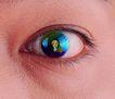 电子商务0055,电子商务,未来科技,眼睛 瞳孔 发光