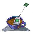 @世界0013,@世界,未来科技,减肥茶 茶杯 画画 抽象 用色