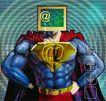 @世界0016,@世界,未来科技,超人 能力 发达 肌肉 版面