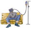 @世界0019,@世界,未来科技,病人 注液 疗养 健康 无力