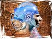 @世界0033,@世界,未来科技,头部 头脑 网络