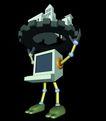 资讯天堂0018,资讯天堂,未来科技,负担 形象刻画 概括意义 比喻 夸张