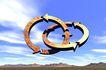 创意无限0062,创意无限,未来科技,圆圈 标志 蓝天