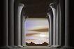 创意无限0069,创意无限,未来科技,石柱 建筑 宏观