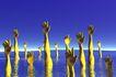 创意无限0091,创意无限,未来科技,海洋 手掌 海面