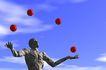 创意无限0095,创意无限,未来科技,苹果 杂技 戏耍