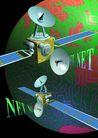 网路世界0002,网路世界,未来科技,卫星 信号 太空 家园 科技