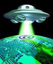 网路世界0003,网路世界,未来科技,外星人 飞碟 侵略 来客 文明