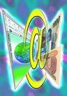 网路世界0006,网路世界,未来科技,货币 拜金 地球 人文 名人