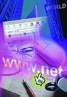 网路世界0008,网路世界,未来科技,鼠标 高楼 网站 钢笔 书刊