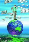 网路世界0014,网路世界,未来科技,屹立 金钱观 责任 交易 站立