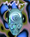 网路世界0016,网路世界,未来科技,金属 电力 放射 元素 光滑