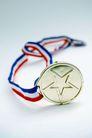 奖牌奖杯0016,奖牌奖杯,静物写真,五角星 圆圈 声名 威望 宝贵