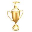 奖牌奖杯0041,奖牌奖杯,静物写真,一个奖杯