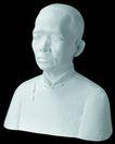 石膏像0081,石膏像,静物写真,人物 模样 石像