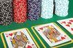 玻璃风格0093,玻璃风格,静物写真,扑克 玩牌 赌博