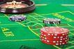 玻璃风格0094,玻璃风格,静物写真,赌桌 桌布 筹码
