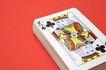 玻璃风格0097,玻璃风格,静物写真,扑克牌 梅花 数字