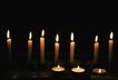 木头人0105,木头人,静物写真,蜡烛 烛盆 点燃的