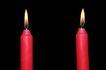 木头人0119,木头人,静物写真,红蜡烛 木头人 祭祀