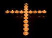 木头人0123,木头人,静物写真,烛火 蜡烛 十字型 火光 圆