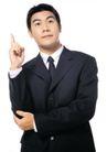 商务白领0176,商务白领,商业金融,西装革履 成功人士 竖起手指
