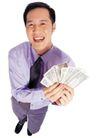商务白领0178,商务白领,商业金融,俯拍白领 斜纹领带 一叠钱