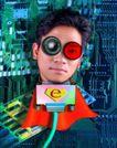 电子商务0061,电子商务,商业金融,数据线 人脑 电路