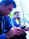 商务洽谈0044,商务洽谈,商业金融,发短信
