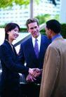 商务洽谈0047,商务洽谈,商业金融,见面握手