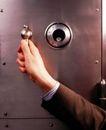 商务洽谈0064,商务洽谈,商业金融,密码箱 商人 柜子