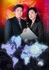 网路商机0067,网路商机,科技,公司 职员 笔记本