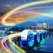 网际网络0023,网际网络,科技,城市 光线 网络