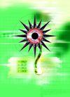网际网络0038,网际网络,科技,圆形 图形 背景色