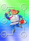 网际网络0040,网际网络,科技,符号 电脑 邮件