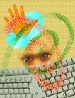 创意资讯0083,创意资讯,科技,眼神 背景 创意