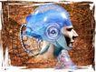 e世界0005,e世界,科技,数字 头盔 战士
