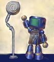 e世界0011,e世界,科技,机器人 交流 问候