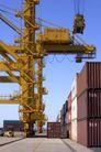 工业类影0070,工业类影,工业,龙门吊 集装箱 装运