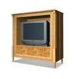 家具模型0178,家具模型,装饰,豪华家具 雕花电视柜 大电视