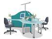 办公桌模型0018,办公桌模型,装饰,现代 电脑 办公