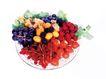 鲜味食物0057,鲜味食物,农业,果盆 各种水果 颜色各异