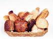 鲜味食物0060,鲜味食物,农业,新鲜食物 筐子 各种面包