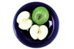 鲜味食物0070,鲜味食物,农业,青苹果 饭碗 甜点