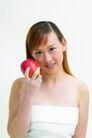 健康美容0069,健康美容,休闲保健,妻子 长发 苹果